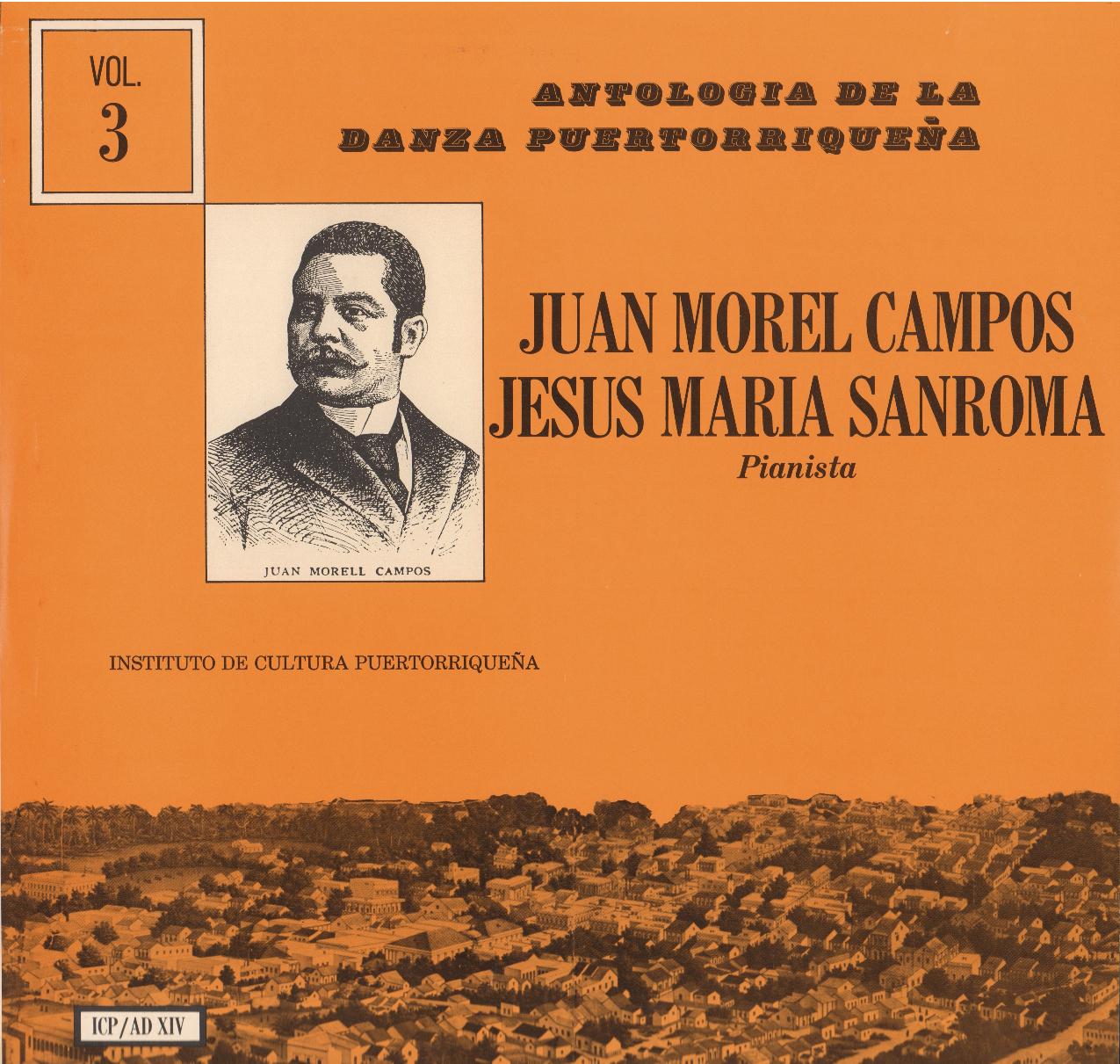 Danzas de Morel Campos Vol. 3