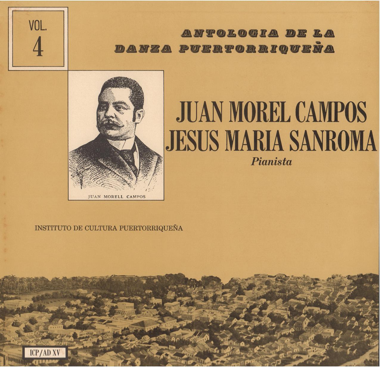 Danzas de Morel Campos Vol. 4