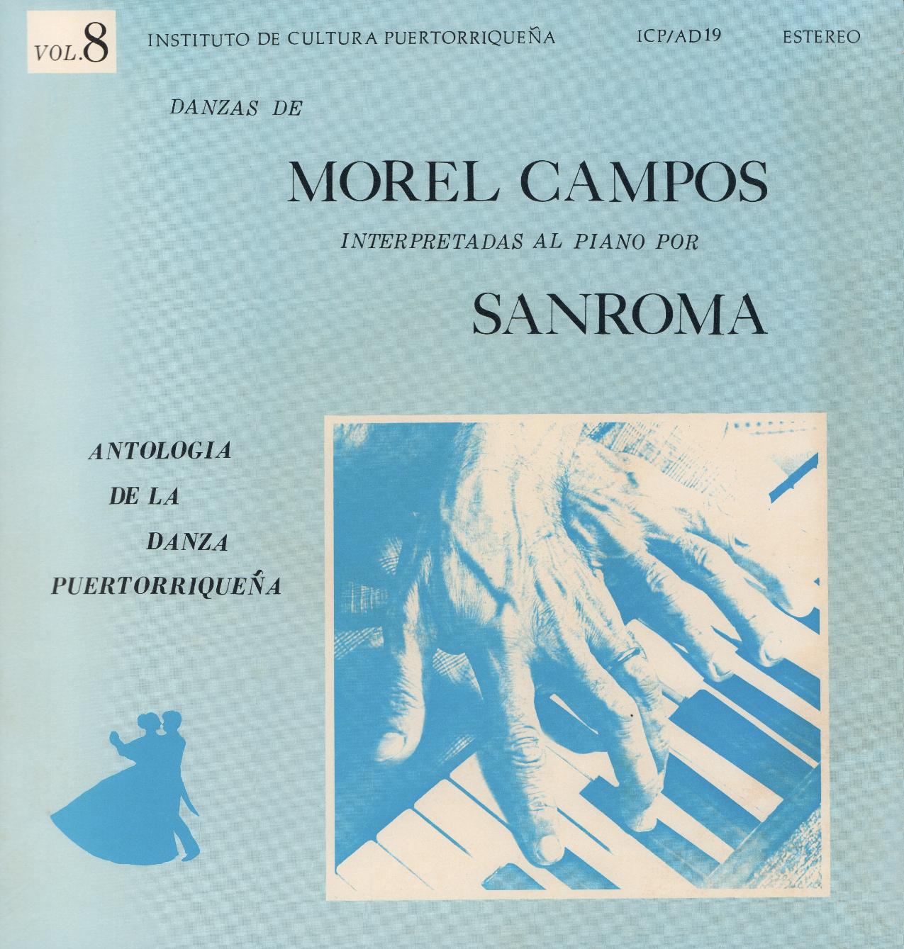 Danzas de Morel Campos Vol. 8
