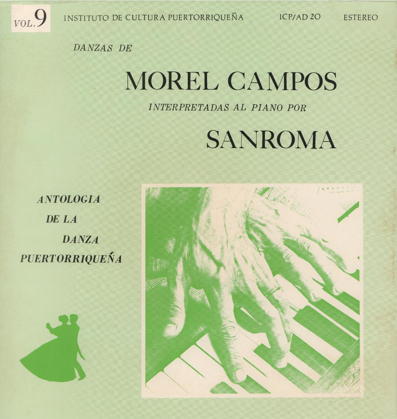 Danzas de Morel Campos Vol. 9
