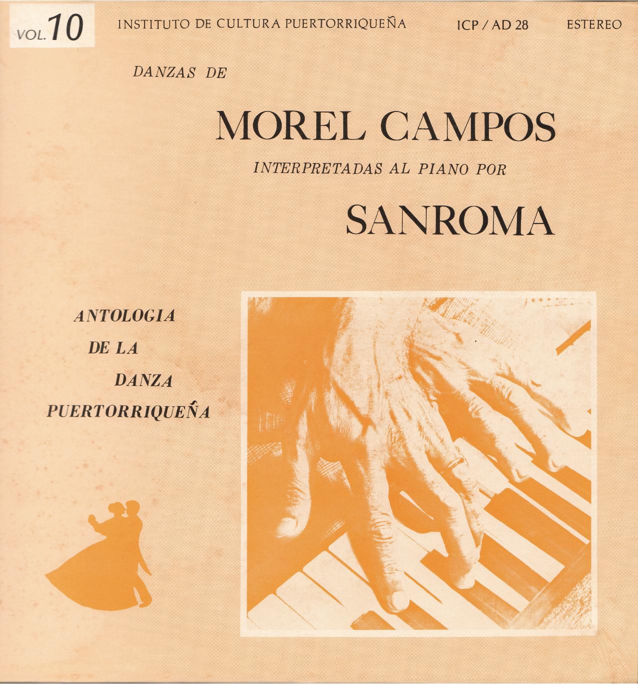 Danzas de Morel Campos Vol. 10