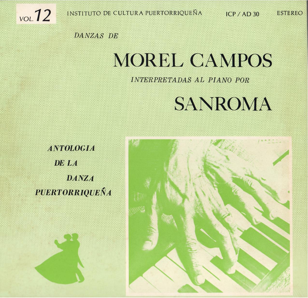 Danzas de Morel Campos Vol. 12