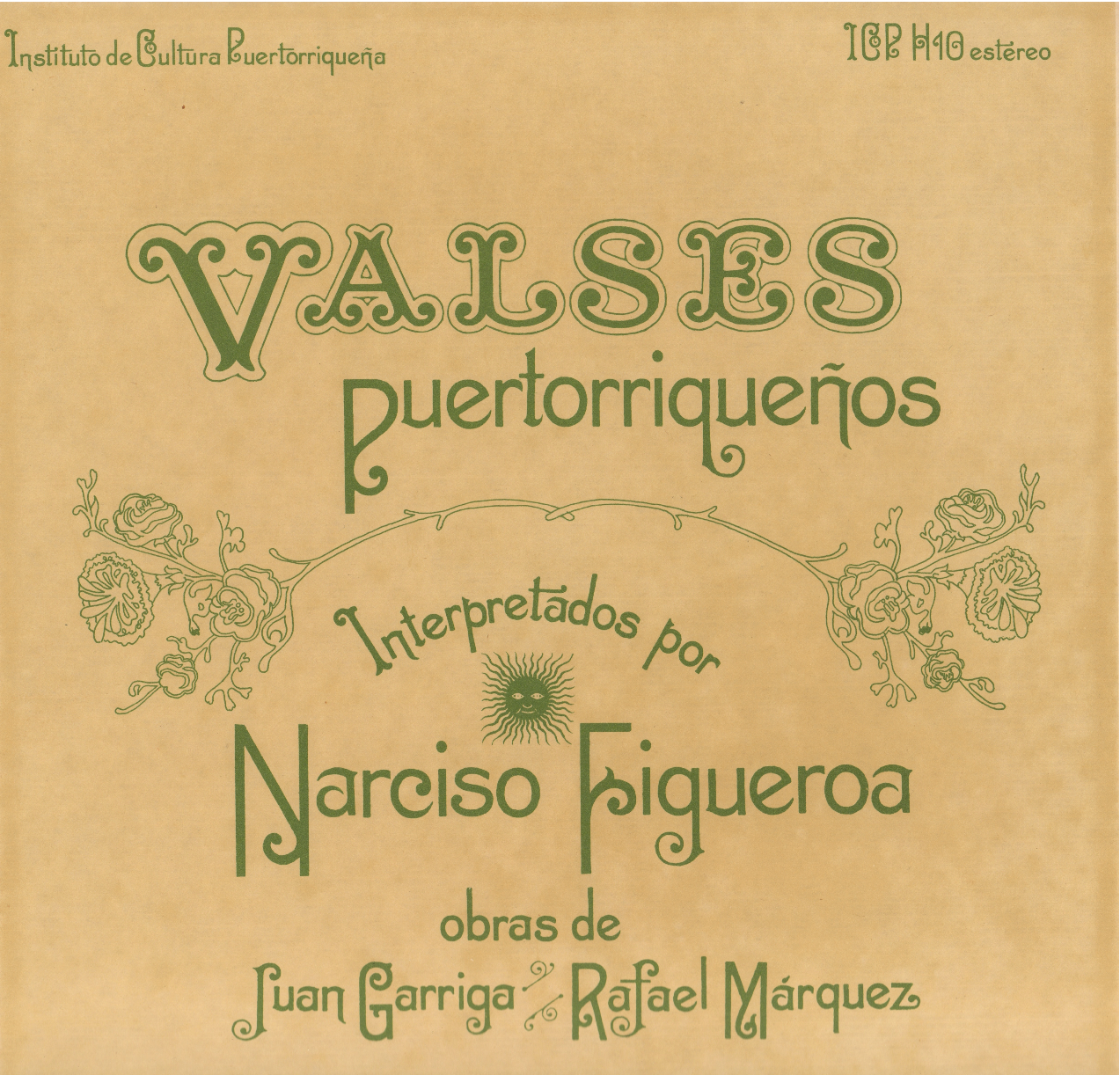 Valses Puertorriqueños Vol. 1