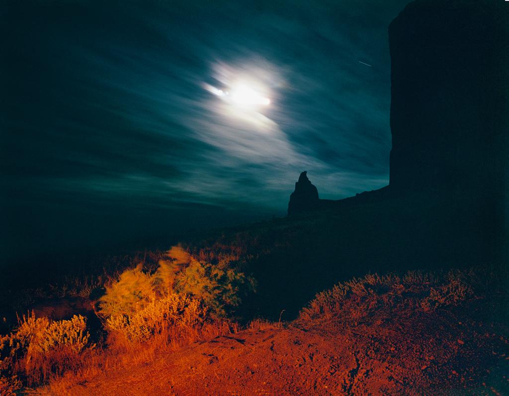 KAREN HALVERSON   Shiprock, New Mexico, (from the series Basin & Range), 1987