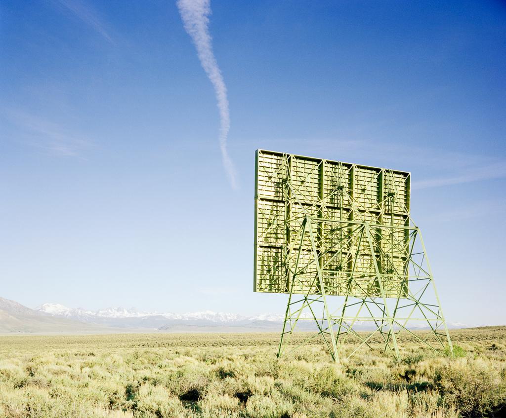 KAREN HALVERSON   Near Independence, California (from the series Basin & Range), 2002