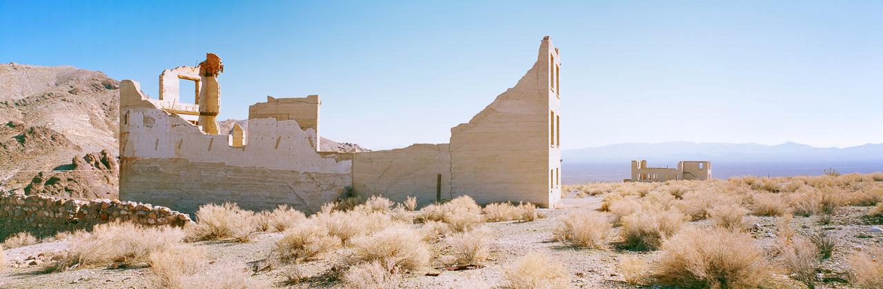 KAREN HALVERSON   Rhyolite, Nevada (from the series Basin & Range), 2004
