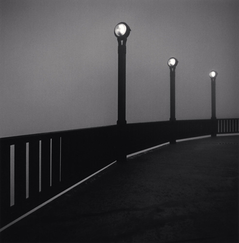 MICHAEL KENNA,  Golden Gate Bridge, Study 5, San Francisco, California,  1989