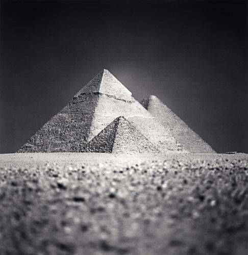 MICHAEL KENNA   Giza Pyramids, Study 5, Cairo, Egypt, 2009