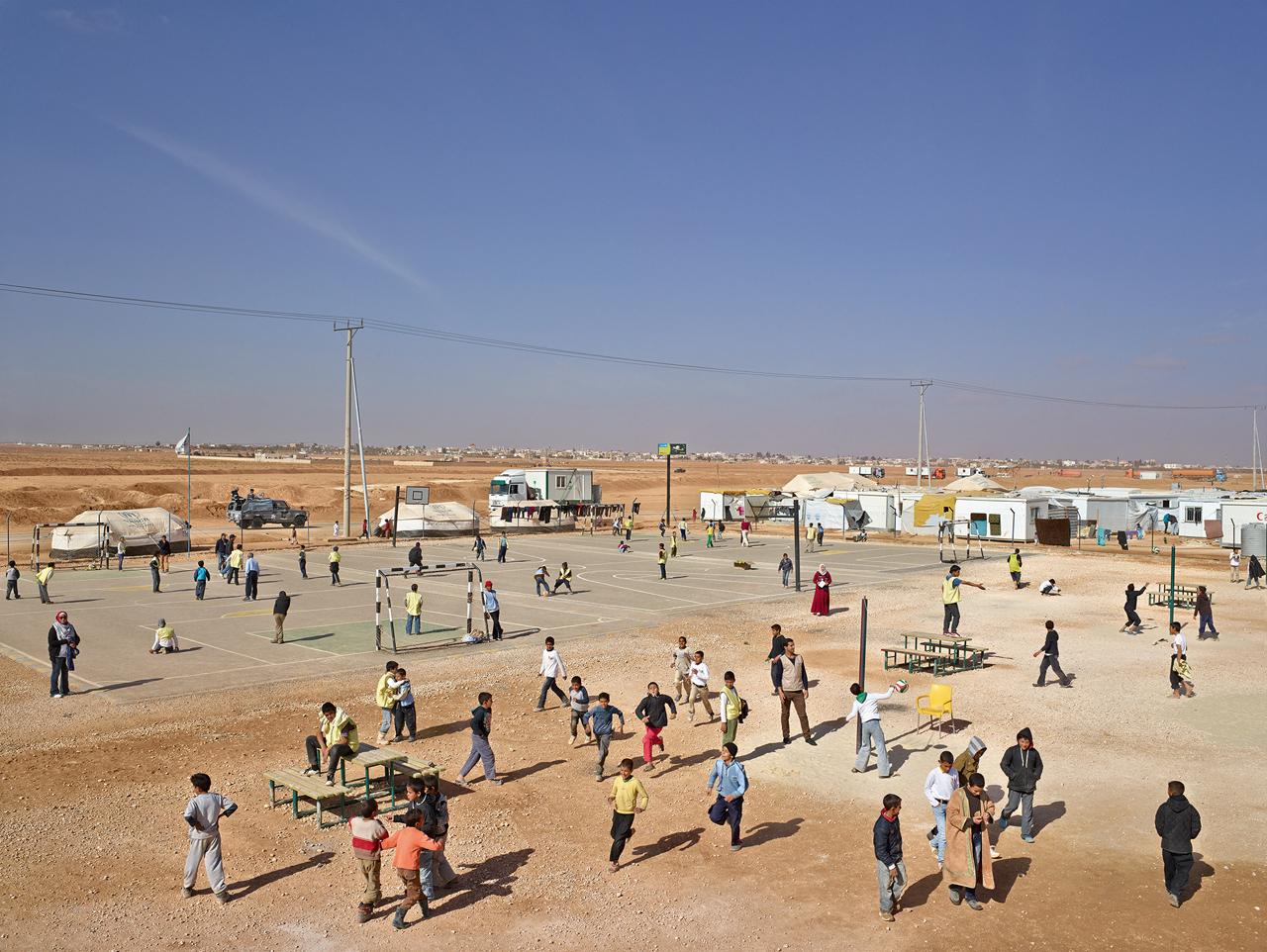 JAMES MOLLISON,  Adolescent Safe Space, Site 5 District 12, Zaatari Refugee Camp, Jordan,  January 23, 2014