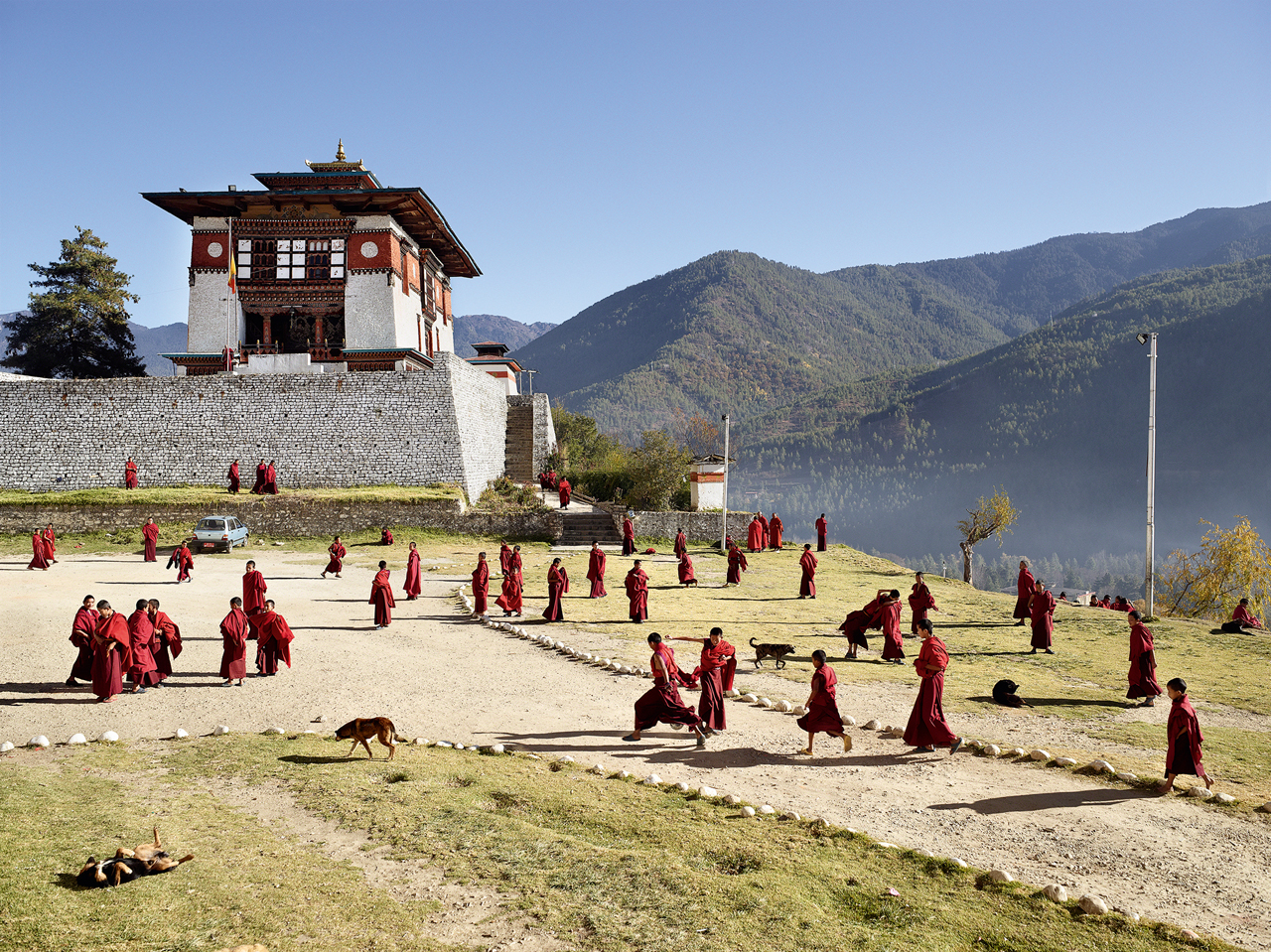 JAMES MOLLISON Dechen Phodrang, Thimphu, Bhutan, November 24, 2011
