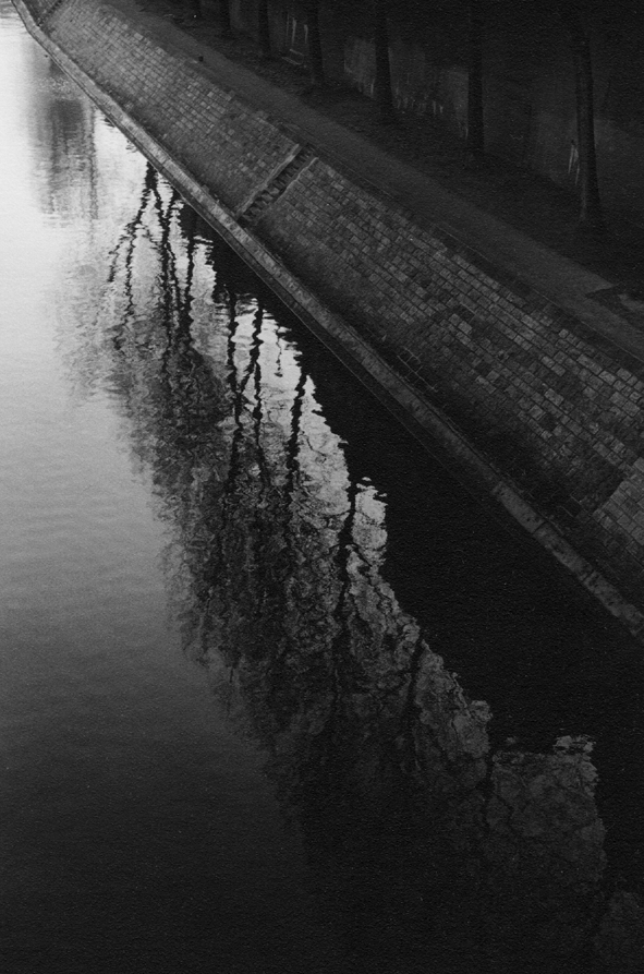 "TOMIO SEIKE Quai d' Anjou, ""Reflection'"" Paris, 1991"