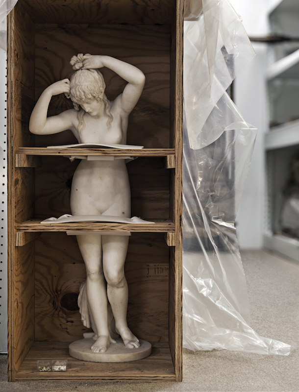 GREGORY VERSHBOW The Bather (The Magician's Assistant), (from the series Art in a Liminal Space), 2012