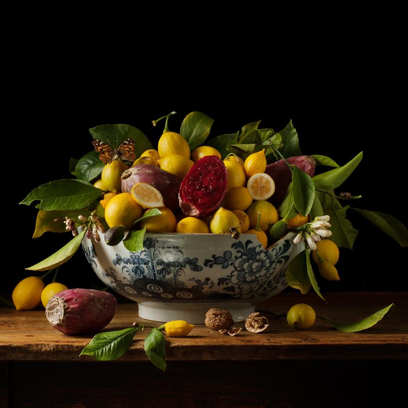 PAULETTE TAVORMINA Lemons & Prickly Pears (from the series Natura Morta), 2013