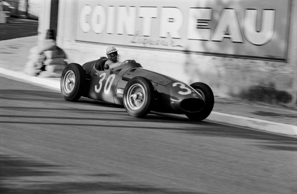 JESSE ALEXANDER, Jean Behra , Grand Prix of Monaco, 1956
