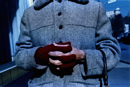 MARK COHEN,  Untitled (Woman with Glove) , 1975