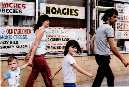 MARK COHEN,  Untitled (Family Hoagies), Pittston, Pennsylvania,  1977