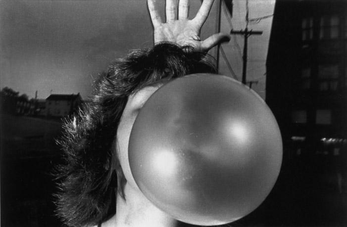 MARK COHEN,  Untitled (Bubble Gum) , 1975