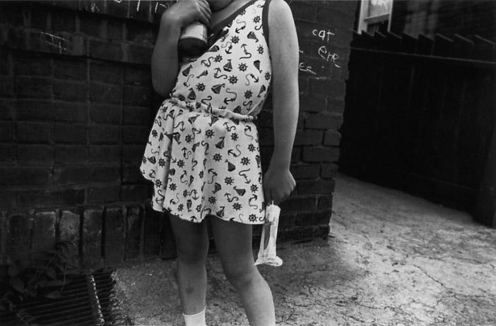MARK COHEN Untitled (Girl in Sailor Dress), 1972