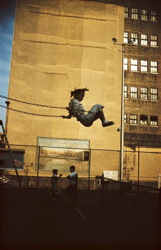 ERNST HAAS,  New York City,  1956
