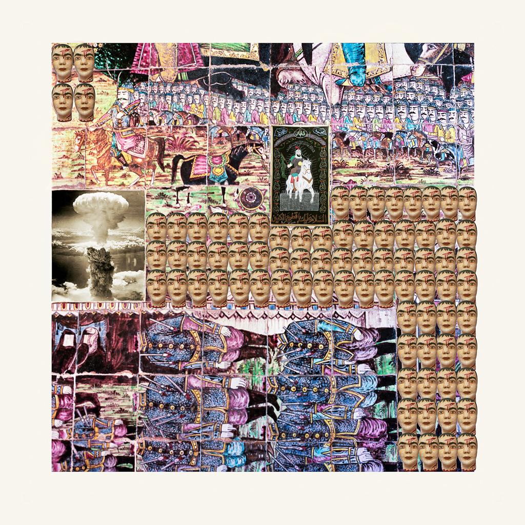 RANA JAVADI,  Never Ending Chaos 8 , 2013