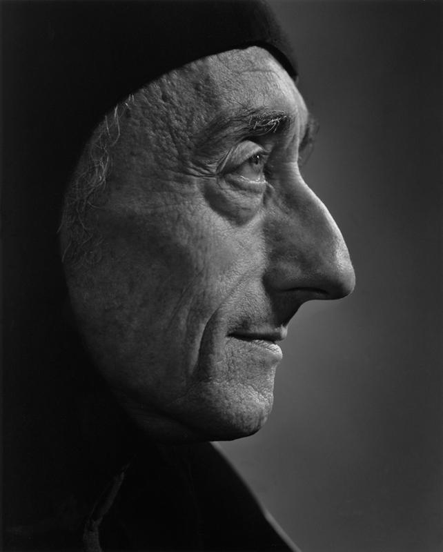YOUSUF KARSH,  Jacques Cousteau , 1972