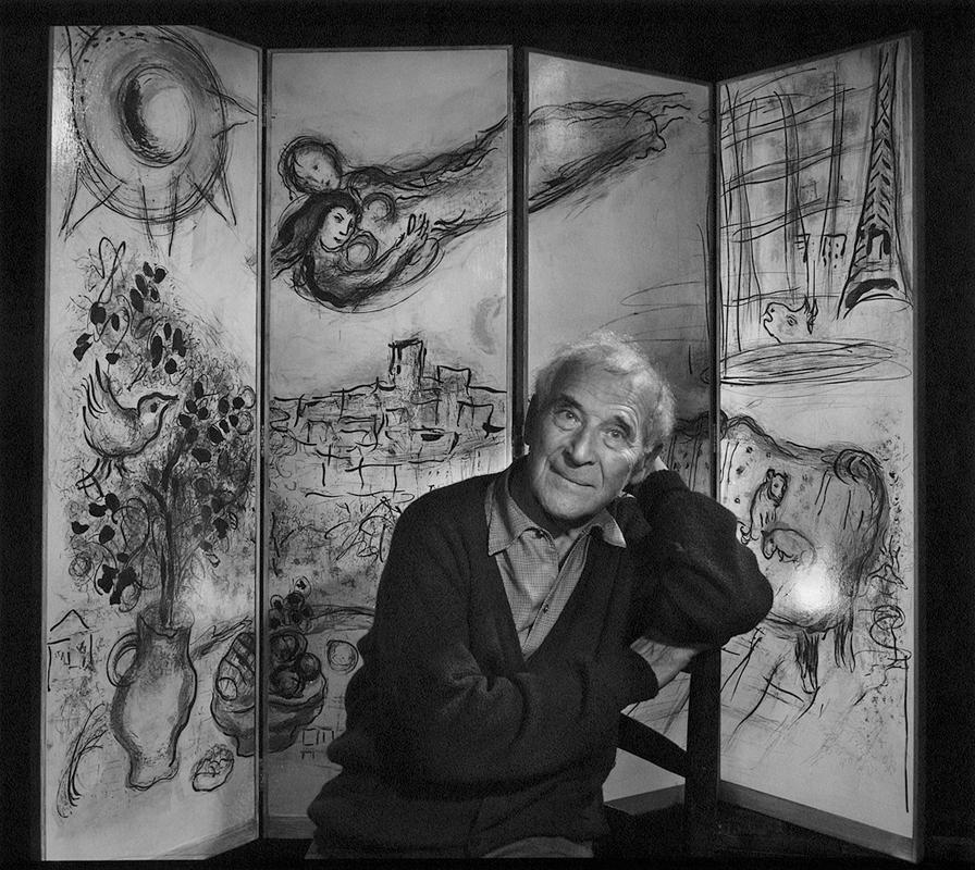 YOUSUF KARSH Marc Chagall, 1965