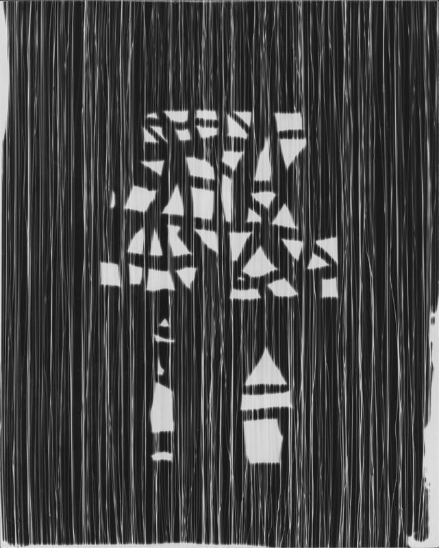 GYÖRGY KEPES Untitled photogram, 1947