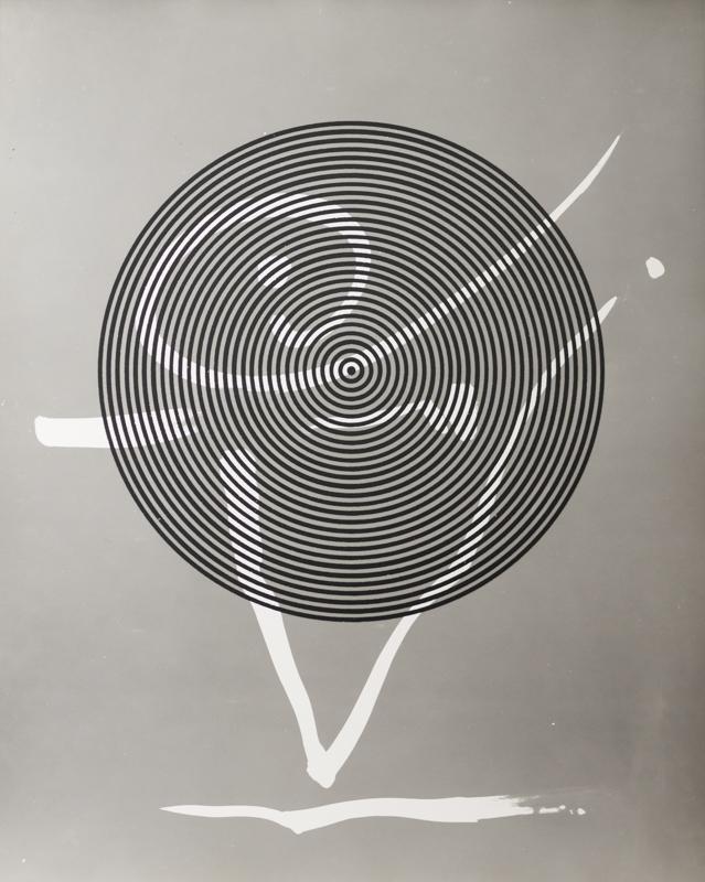 GYÖRGY KEPES Graphs Through Circles, 1981