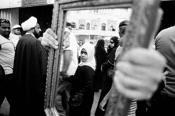 TAHMINEH MONZAVI,  Mirrors of Mashhad 7,  2008