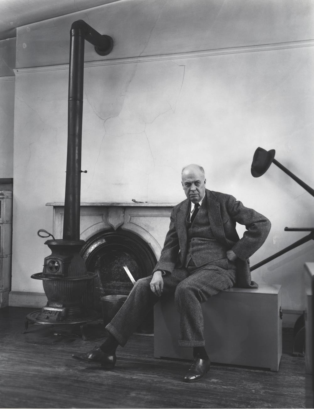 BERENICE ABBOTT Edward Hopper,1948