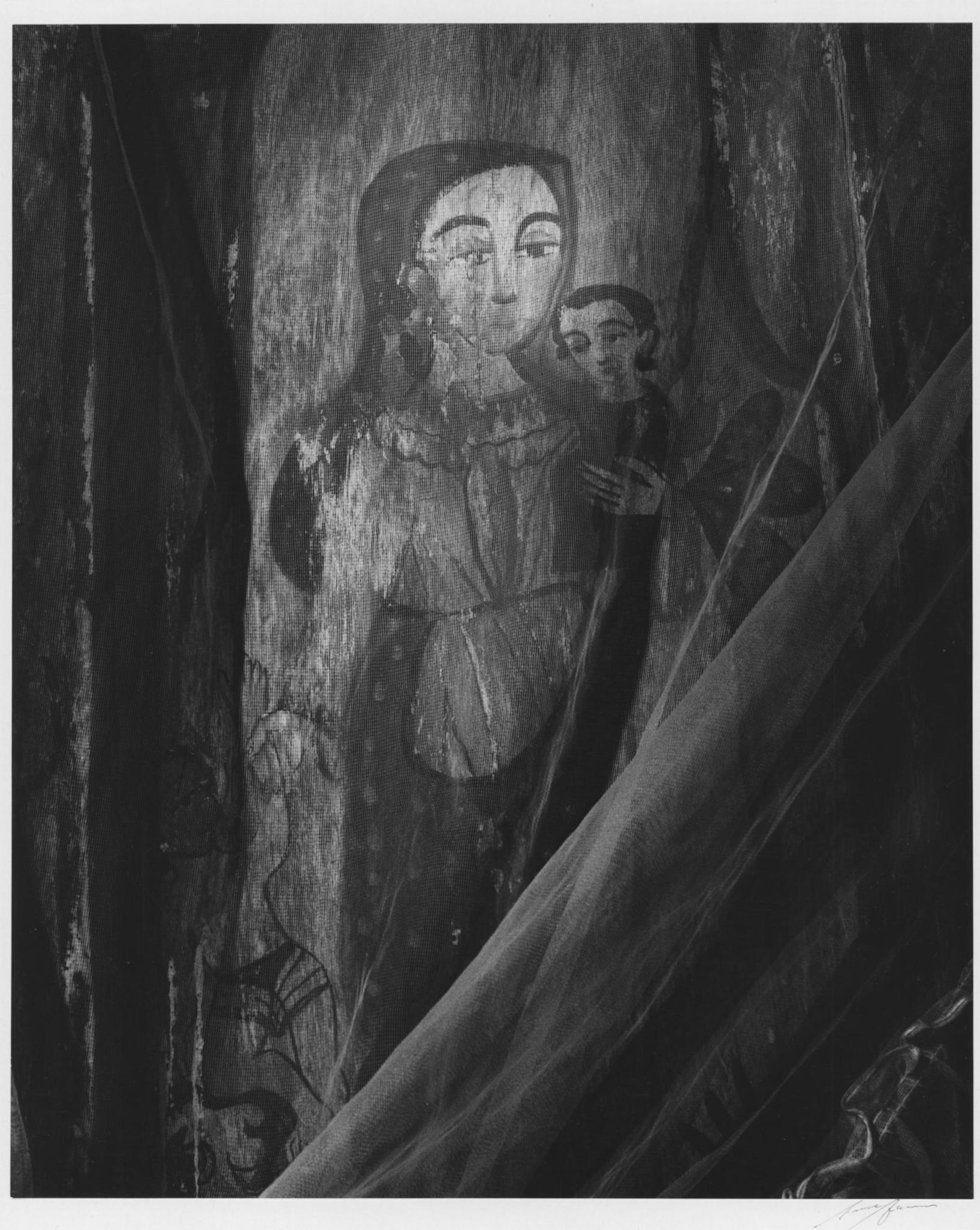 ANSEL ADAMS,  Altar, Las Trampas Church, New Mexico,  1943
