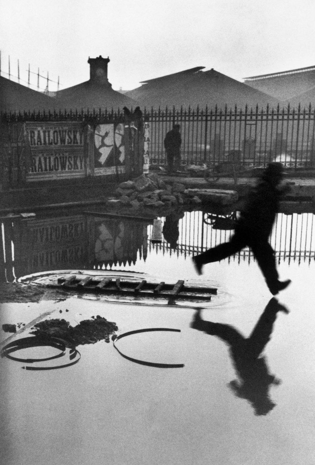 HENRI CARTIER-BRESSON Behind the Gare St. Lazare, 1932