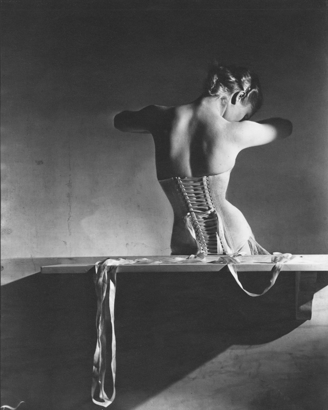 HORST P. HORST,  Mainbocher Corset , Paris, France, 1939