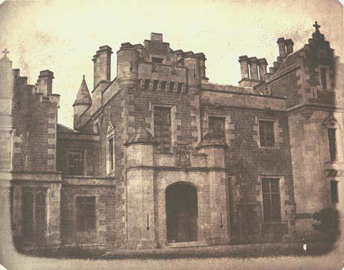 WILLIAM H. FOX TALBOT,  Abbottsford, Scotland   (the Ancestral Home of Walter Scott),  c. 1845
