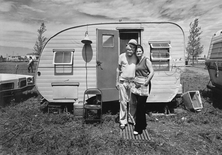 RANDAL LEVENSON,  Bob and Virginia Melvin ,  Fargo, North Dakota , 1976