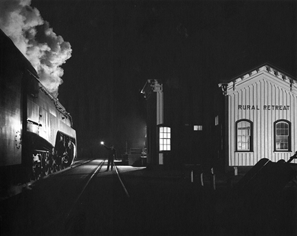 O. WINSTON LINK,  Birmingham Special at Rural Retreat ,  Virginia (NW1634),  1957