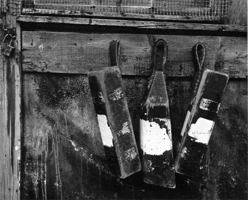 AARON SISKIND,  Gloucester   (Three Buoys),  1944