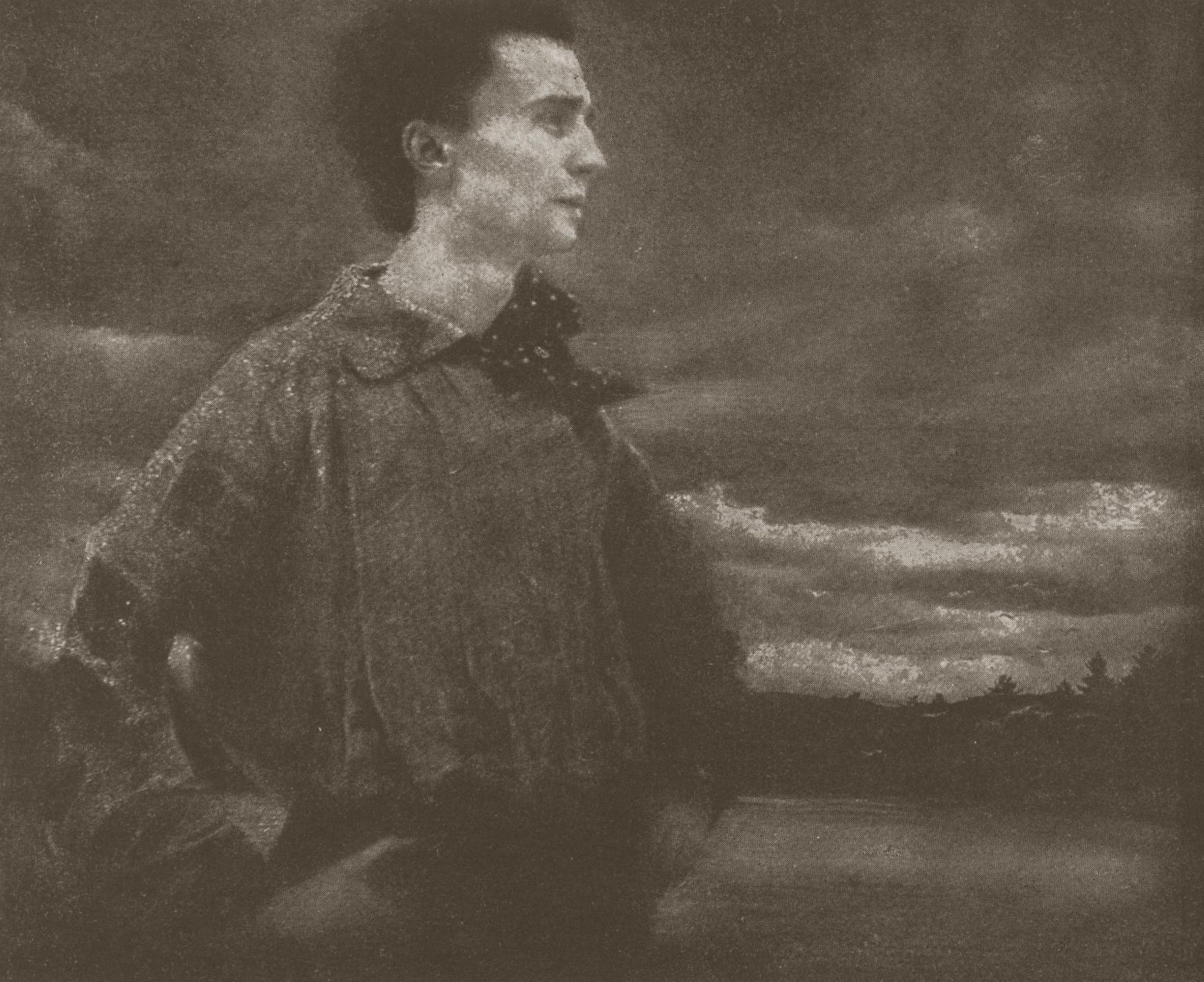 EDWARD STEICHEN, Portrait of a Young Man (Self-Portrait), 1905