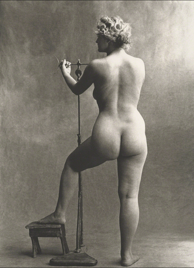 IRVING PENN, Sculptor's Model,  Paris, 1950