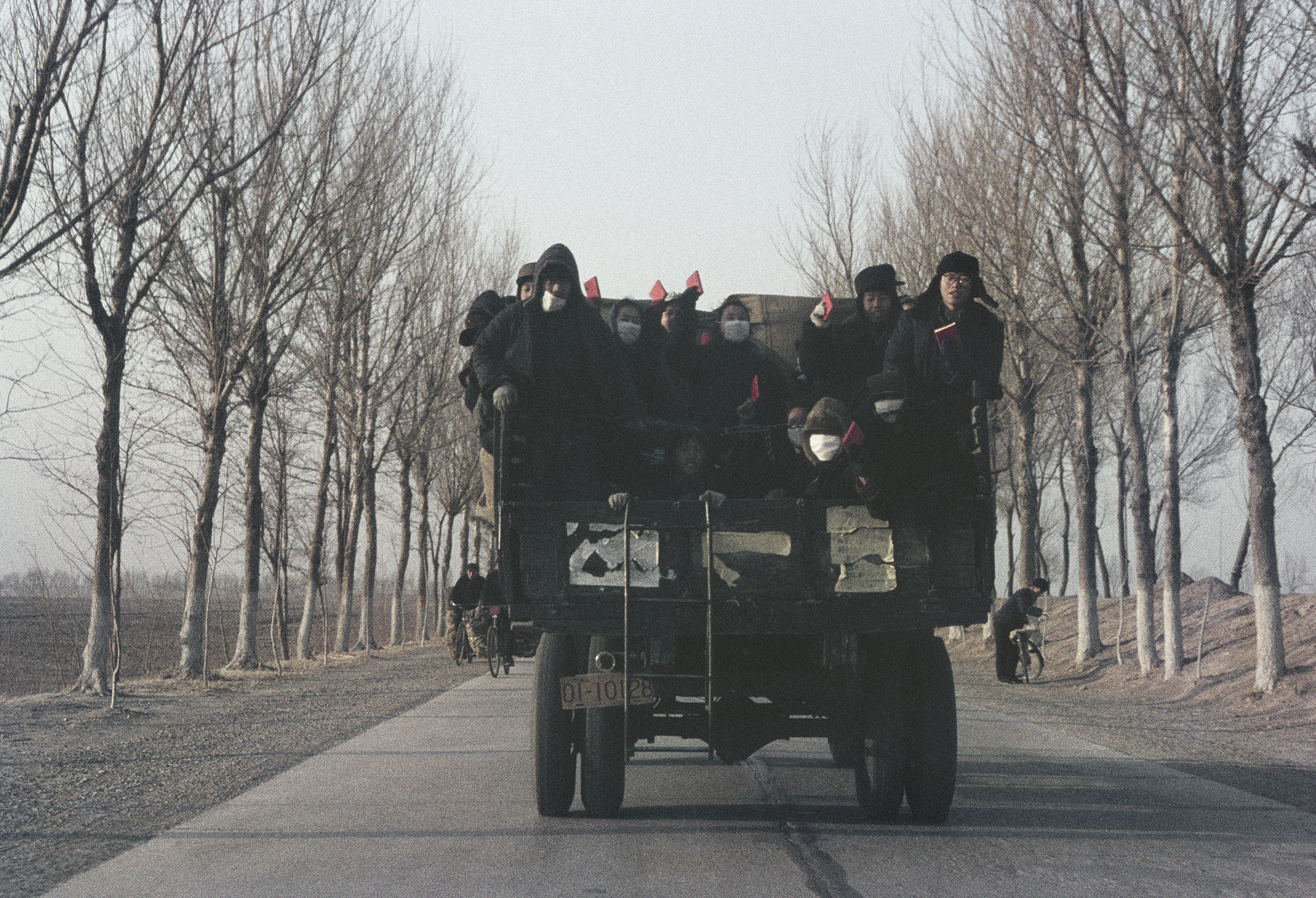 """SOLANGE BRAND,  Untitled (Red Guards on Their """"Long March"""" from Tianjin to Beijing), China , 1967"""