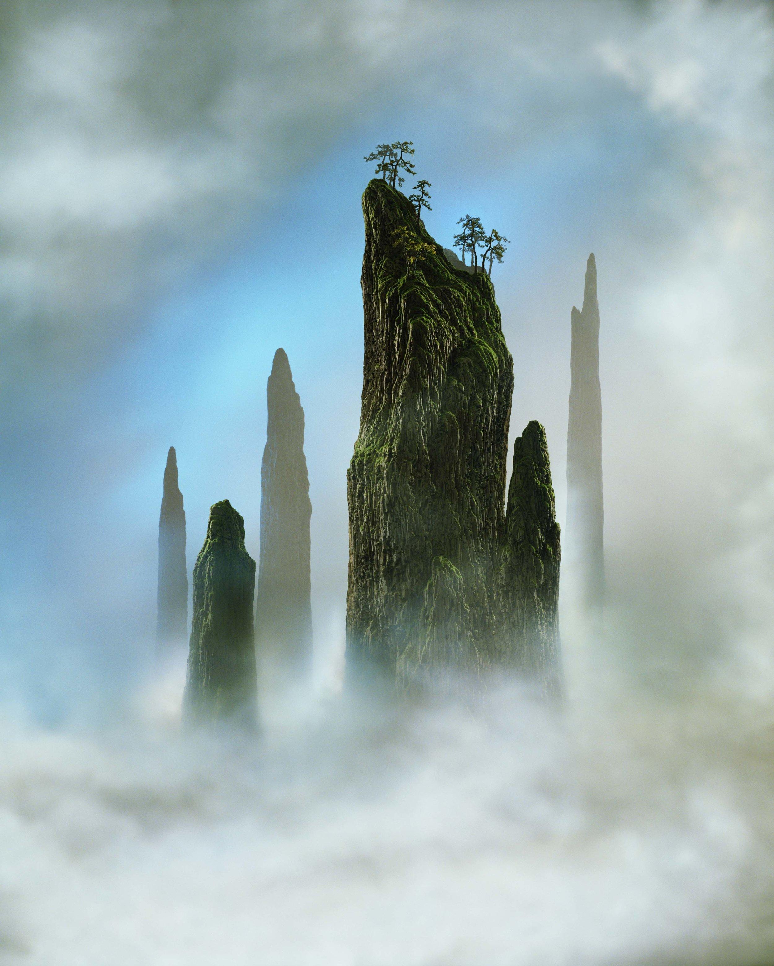 DIDIER MASSARD, Tree Top , 2002