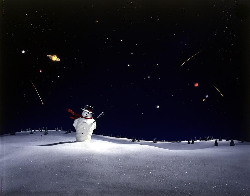 DIDIER MASSARD,  Celestial Snowman , 1999
