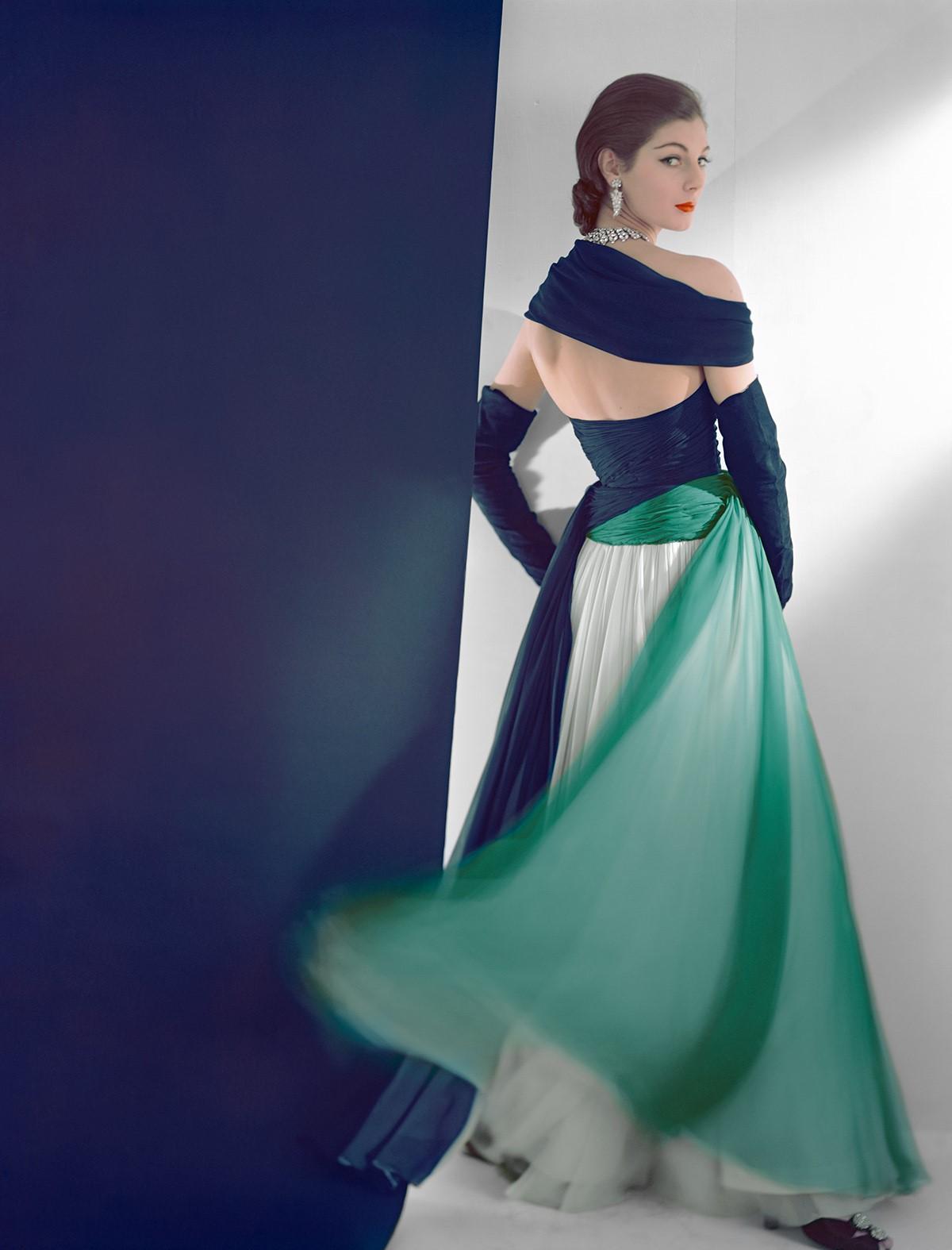 HORST P. HORST, Dress by Jean Desses , 1952
