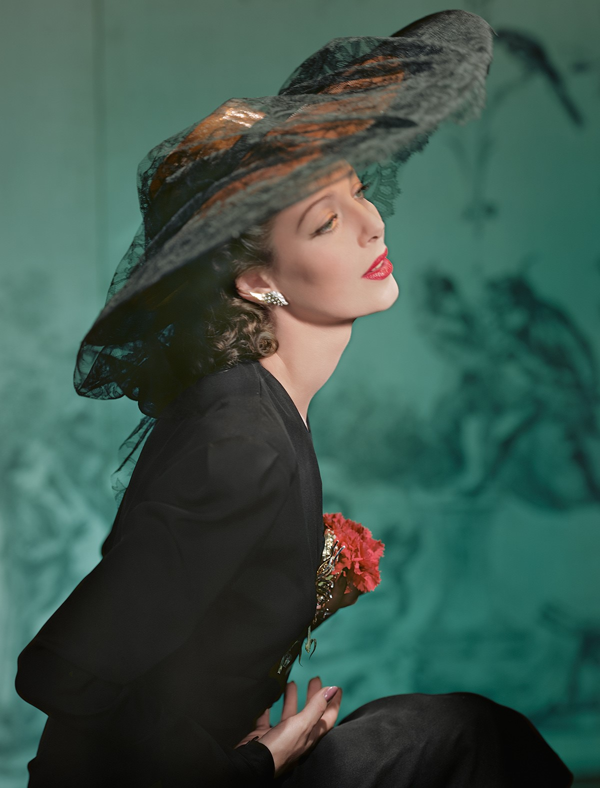 HORST P. HORST,  Loretta Young, New York , 1941