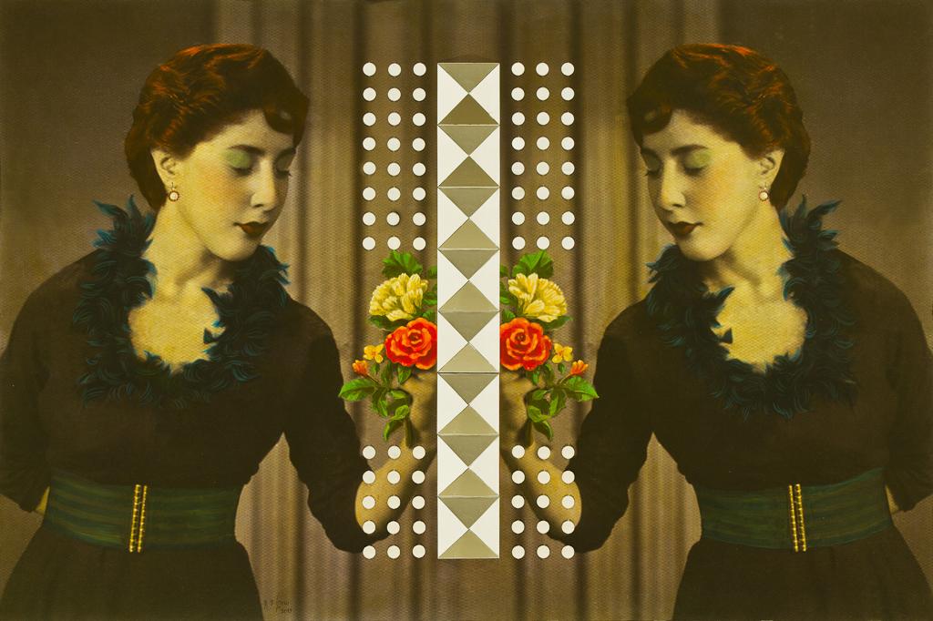 Samira Alikhanzadeh, Peace, From Double Series, 2013