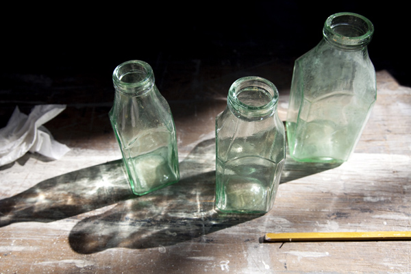 JESSICA BACKHAUS,  Memories in a Bottle  ( Once, Still and Forever),  2011