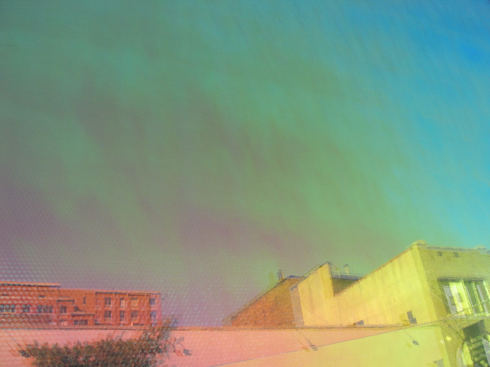 JESSICA BACKHAUS,  Rainbow   (One Day in November) , 2006