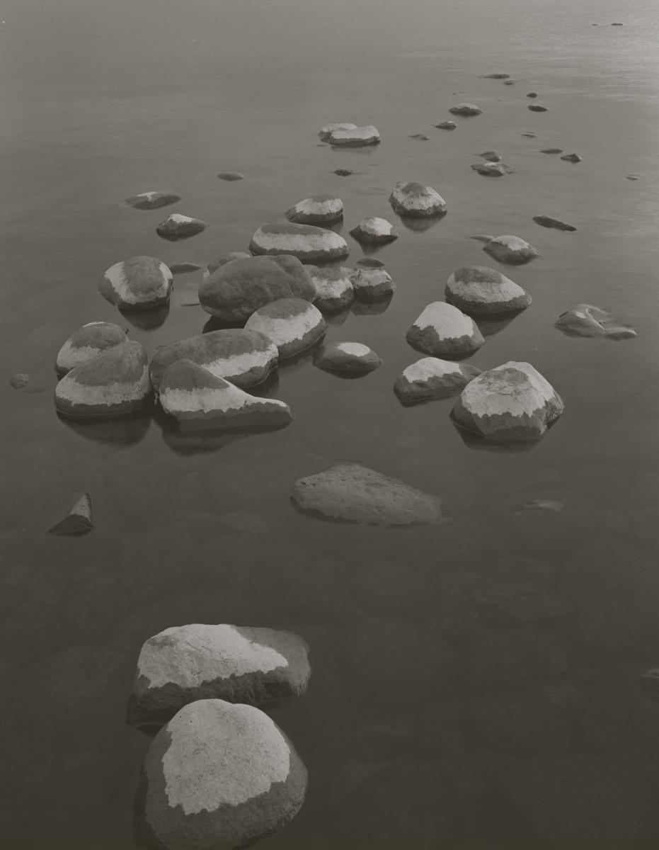 KOICHIRO KURITA,  Stone in the Lake, Lake Superior, Minnesota,  1999