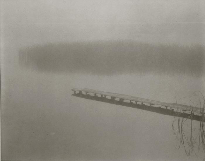 KOICHIRO KURITA,  Foggy Pier, Nagano, Japan,  1989