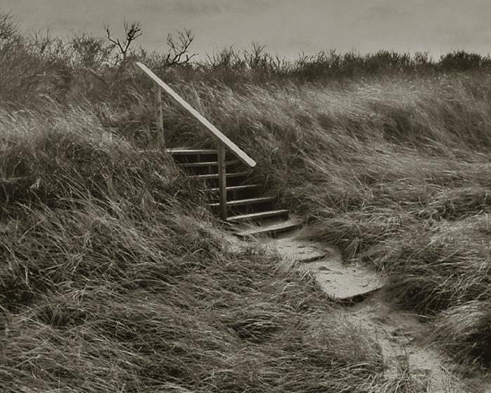 KOICHIRO KURITA,  Steps, Cape Cod, Massachusetts,  1991